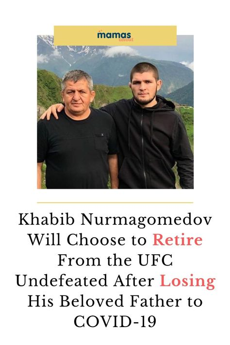 Khabib Nurmagomedov will retire as an undefeated UFC fighter after winning the final fight of his career on October 24 against Justin Gaethje at UFC 254. #KhabibNurmagomedov #UFC