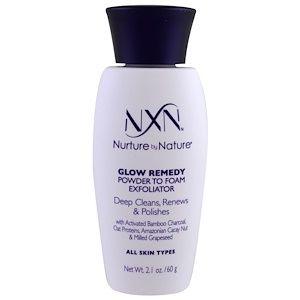 Nxn Nurture By Nature Glow Remedy Powder To Foam Exfoliator All Skin Types 2 1 Oz 60 G Discontinued Item Dull Skin Remedies Pores Diy Skin Types