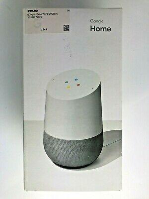 Google Home Personal Assistant Smart Speaker White Slate For Sale Online Ebay Small Speakers Works With Alexa Ebay