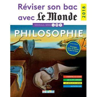 Reviser Son Bac Avec Le Monde Philosophie Livres A Lire Sujet Du Bac Philosophie