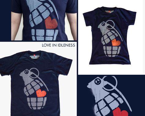 Love in Idleness t-shirt design