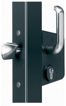 Locinox LSKZ U2 Lock for Sliding Gates in Black in 2019 | Hamilton