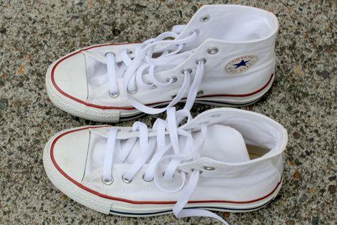 come lavare scarpe converse bianche