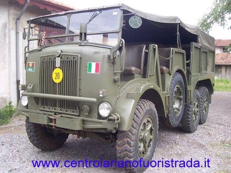 Fiat Tp 50 Veicoli Militari Esercito Militari