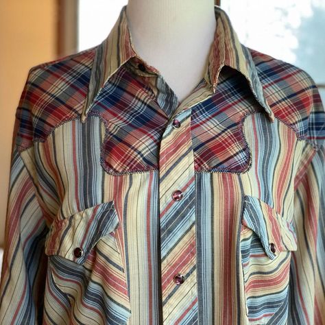 50/'s  60/'s Men/'s Shirt  Red Heather Button Down  Christmas Shirt  XL Christmas Shirt  XL Red Button Down  Donegal