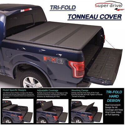 Sponsored Ebay Tri Fold Solid Hard Tonneau Cover Fits 1988 2000