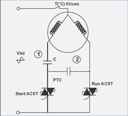 Wiring Diagram For A Air Conditioner Run Capacitor Capacitor Power Supply Circuit Air Conditioner