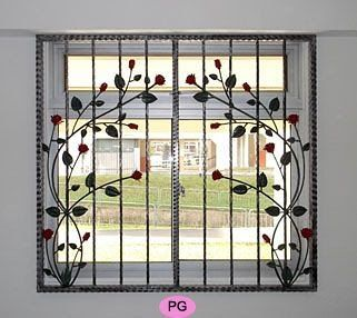 Wrought Iron Window Grilles Window Grill Design Iron Lovely Steel Window Grill Design Catalogue In 2020 Window Grill Design Home Window Grill Design Iron Window Grill
