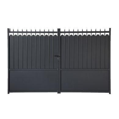 Portail Battant Aluminium Adaggio Portail Portail Coulissant Lapeyre