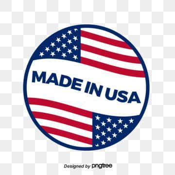 Com A Bandeira Dos Estados Unidos Dos Estados Unidos Fez Circular Na Fabricacao Dos Design De Marca O Logotipo Made In Usa Estados Unidos Imagem Png E Vetor Logotipo Circular