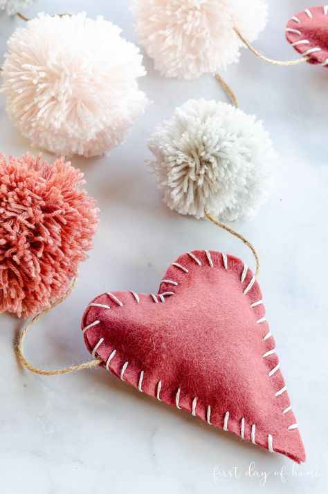 How to Make a Valentine Garland You'll Fall in Love With