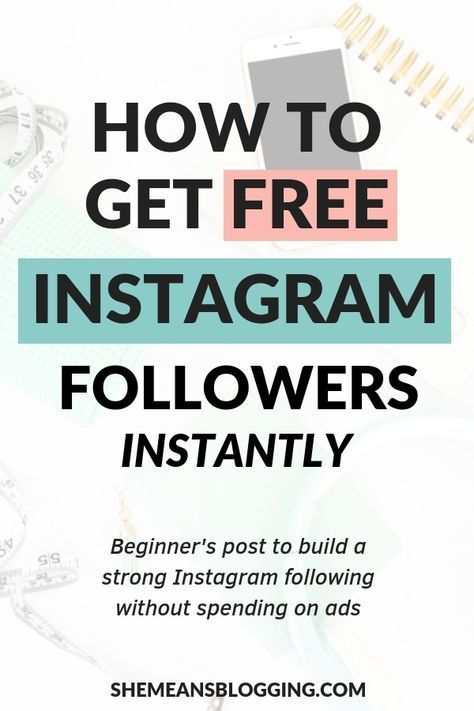 How To Get Free Instagram Followers Fast Without Following