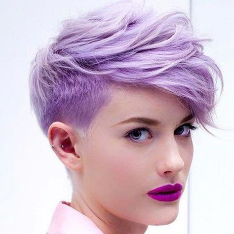 List of pixie cut short undercut faux hawk pictures and