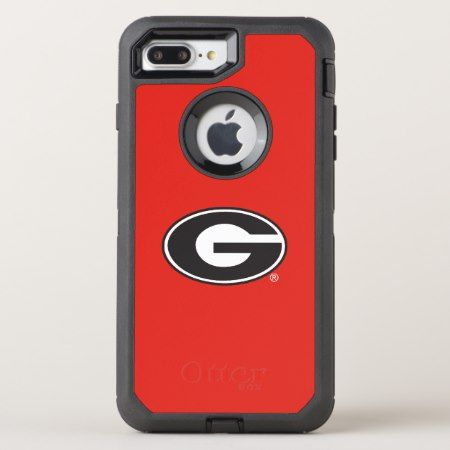 Georgia Bulldogs G Logo Otterbox Defender Iphone 8 Plus 7 Plus Case Tap Personalize Buy Right No Iphone Case Covers Sorority And Fraternity Smartphone Case