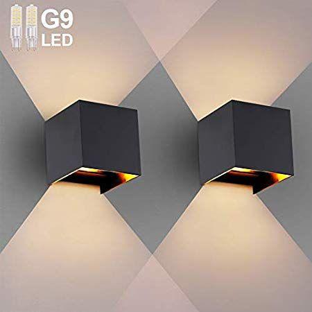 12W LED Wandleuchte Außen Wandlampe Wasserdicht Einstellbar Abstrahlwinkel IP65
