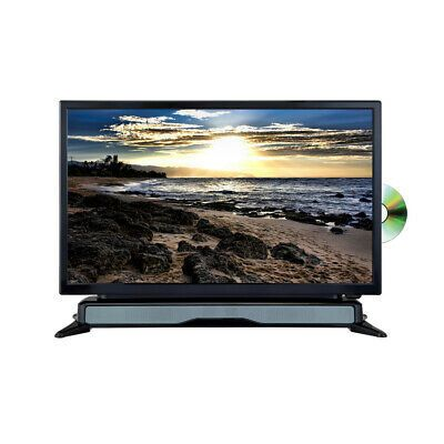 New Axess 24 Widescreen Hd Led Tv Dvd Combo With Soundbar Flat Screen Led Tv Sound Bar