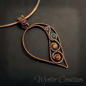 Past Wire Work Projects: Necklaces and Pendants WynterCreations - Je . - Past Wire Work Projects: Necklaces and Pendants WynterCreations – Jewelry – - Memory Wire Jewelry, Copper Wire Jewelry, Wire Jewelry Designs, Wire Jewelry Making, Wire Wrapped Jewelry, Beaded Jewelry, Handmade Jewelry, Pendant Jewelry, Jewelry Ideas