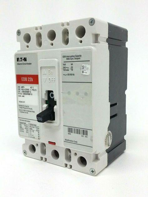 Ebay Sponsored Eaton Edb3200bp10 Circuit Breaker Circuit Ebay Things To Sell