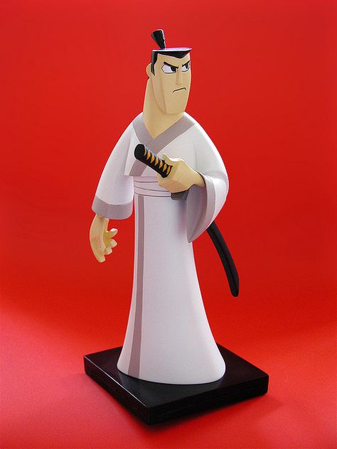 Cartoon Network Samurai Jack Maquette Samurai Jack Samurais