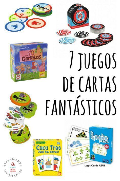 7 Juegos De Cartas Para Jugar En Todos Lados Aprendiendo Matemáticas Juegos De Cartas Juegos De Cartas Para Niños Juegos De Mesa Para Niños