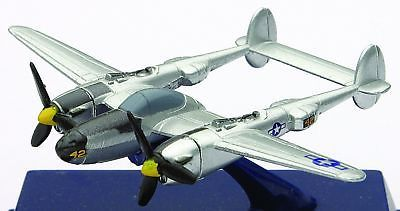 Vintage Manufacture 2650: Die-Cast Wwii Fighter Plane, P-38
