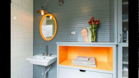 Square Meter Bathroom Design Restroom Wall Decor - Outdoor themed bathroom decor
