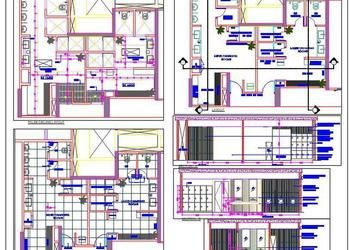 Swimming Pool Changing Room Design Detail House Plans