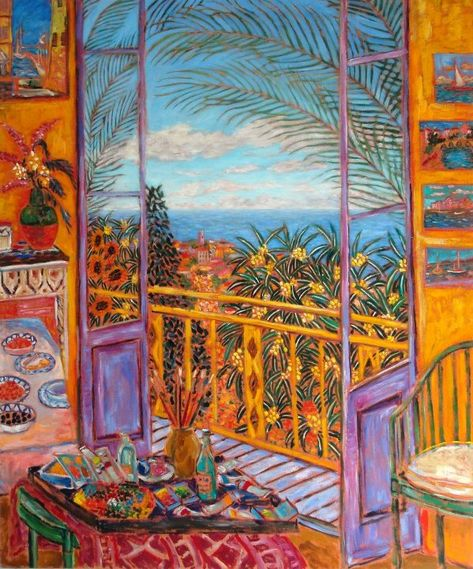 Bonnard's Dining Room - Le Cannet, 1943 by Damian Elwes iBritish painter , currently residing in the United States Pierre Bonnard, Art And Illustration, Henri Matisse, Arte Inspo, Kunst Inspo, Art Antique, Post Impressionism, Paul Gauguin, Fine Art