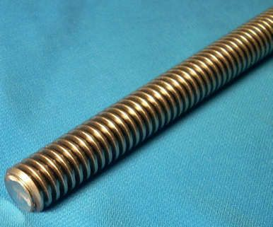 304014 2 1 2 10 X 24 Inch 2 Foot 1 Start Acme Threaded Rod For Lead Screw Cnc In 2020 Acme Thread Threaded Rods Acme