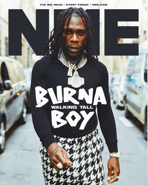 """BukiHQ Media on Instagram: """"""""A revolution is needed. I want to inspire it"""" Bruna Boy says in an interview with @nmemagazine. Read the full interview with @burnaboygram…"""""""