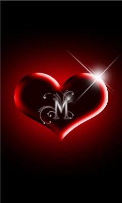 Love Letter M Wallpaper Download M Wallpaper Lettering Fancy Letters