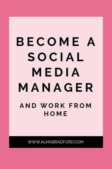 How to Become a Social Media Manager — Alma Bradford