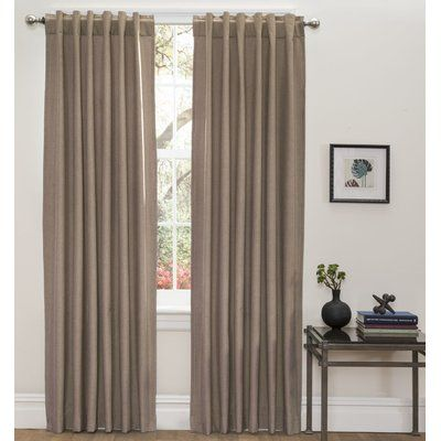 Zana Solid Blackout Grommet Curtains Cool Curtains Thermal Curtains