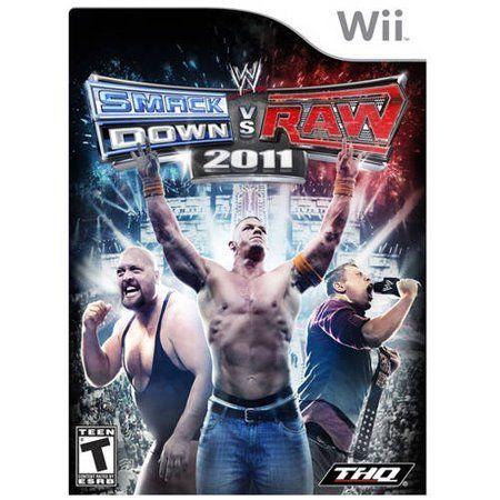 Wwe Smackdown Vs Raw 2011 Wii Pre O Walmart Com In 2020 Smackdown Vs Raw 2011 Xbox One Games Wwe