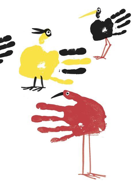 Let's Make Some Great Fingerprint Art on Books4yourKids.com!