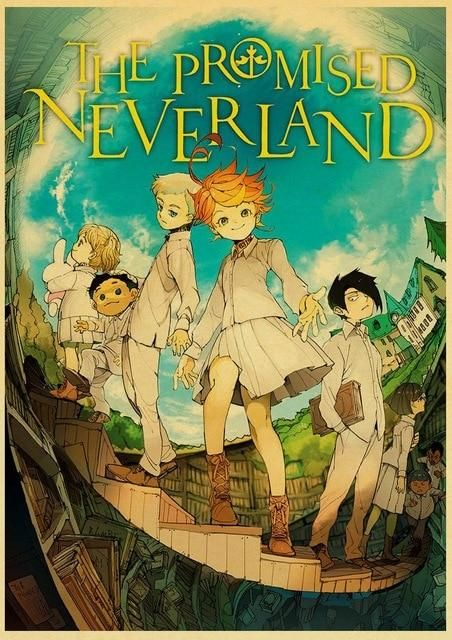 The Promised Neverland Poster Prints - 42X30 CM / E181 3