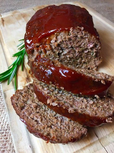 Low Sodium Meatloaf Recipe Yummly Recipe Low Sodium Recipes Heart Easy Low Sodium Recipes Heart Healthy Recipes Low Sodium