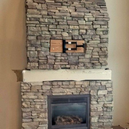 Before Wrap Around Fireplace Mantel In 2020 Fireplace Fireplace