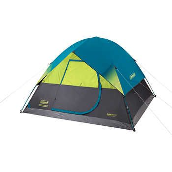 Coleman 6 Person Dark Room Fast Pitch Dome Tent Tent Dome Tent Dark Room