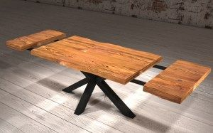 Extendable Kitchen Table In Solid Wood With S Tavolo Da