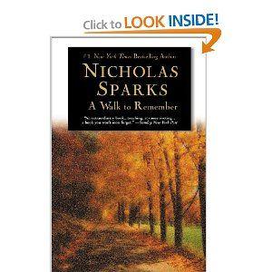 i'm a sucker for nicholas sparks books