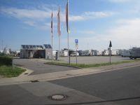 Amazing Bremerhaven Frontsicht auf den Reisemobil Parkplatz Fischereihafen Pl tze Strom