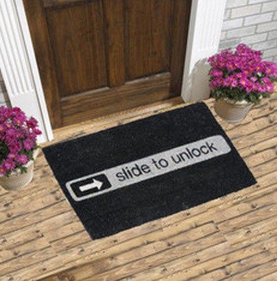 Ten Crazy And Unusual Doormats You Can Buy Right Now Door Mat Unusual Nerdy