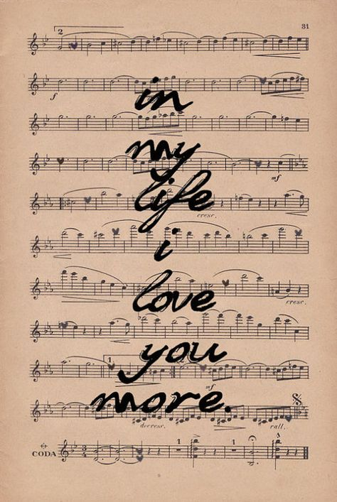 My favorite song by The Beatles.