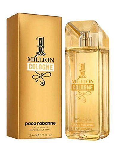 Paco Rabanne 1 Million Cologne, 4.2 Fluid Ounce Paco Rabanne
