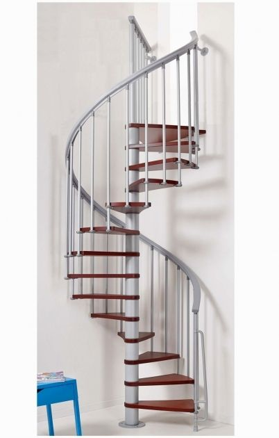 Smallest Spiral Staircase Dimensions