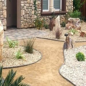 Decomposed Granite Portland Rock And Landscape Supply Backyard Landscaping Desert Backyard Xeriscape Landscaping