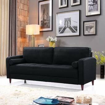 Forsan Loveseat Reviews Joss Main Living Room Sofa Modern Sofa Living Room Mid Century Modern Living Room