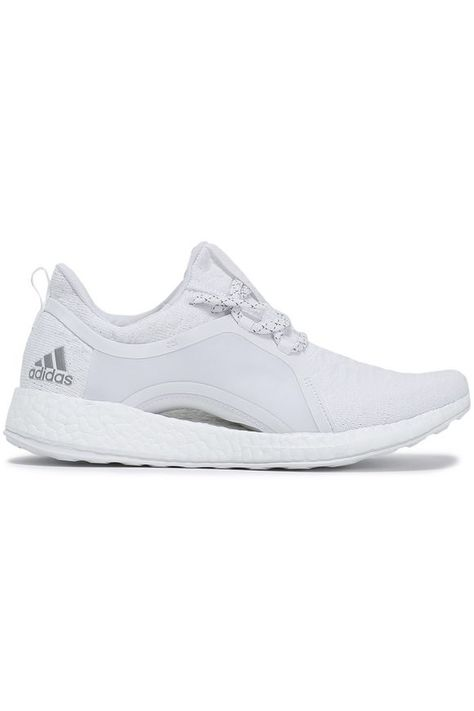 PureBOOST stretch knit sneakers | Knit sneakers, Sneakers