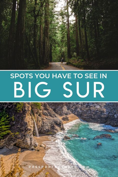 If Big Sur, CA is on your bucket list, be sure to read this extensive local's guide to hiking Big Sur, where to eat, how to support the community and more! Big Sur California, California Travel, Santa Cruz California, Travel Oklahoma, California Coast, Oh The Places You'll Go, Places To Travel, Travel Destinations, Big Sur Hiking